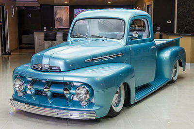 1951 Ford Other Pickups  Magazine Feature! Ford Drivetrain! 302ci, AOD, Air Ride, PDB, Custom Interior!