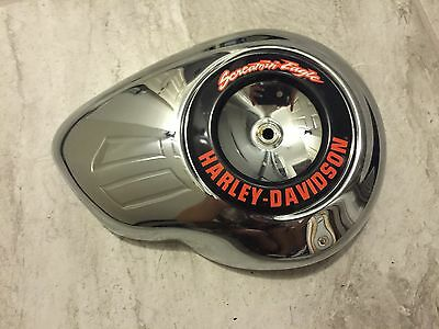 12 Harley Davidson FXDC Dyna Softail Air Cleaner Cover SCREAMIN EAGLE