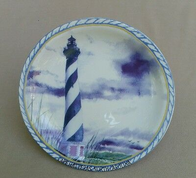Cape Hatteras Lighthouse North Carolina 8-Inch Collectible Plate