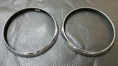 Vintage Original Headlight Bezel Buick 1930s