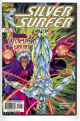 Silver Surfer 135 2nd Series Marvel 1998 NM Puppet Master Mephisto