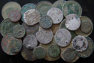 30 Old Coins - metal detecting finds3