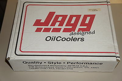 Jagg Oil Cooler Chrome 0713-0005 For Hd