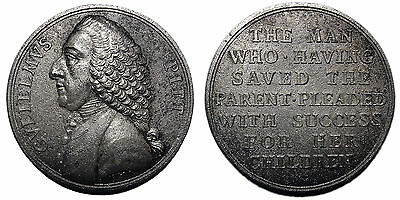 William Pitt Repeal of the Stamp Act 1766 medal by Pingo, cast copy XIX Century?