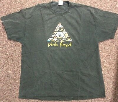 Pink Floyd Tee T Shirt Official Album Cover Pyramid XL