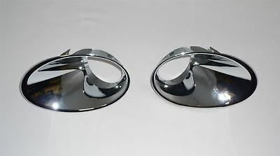 Renault Megane MK3 front fog light frame terim panel chrome left&right side