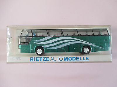 Rietze 40195 HO Bus Neoplan cityliner Professional painted in GREEK routes KTEL