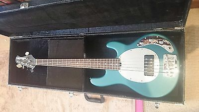 Ernie Ball Music Man Sub 5 Bass (made in the USA) includes hard case and strap