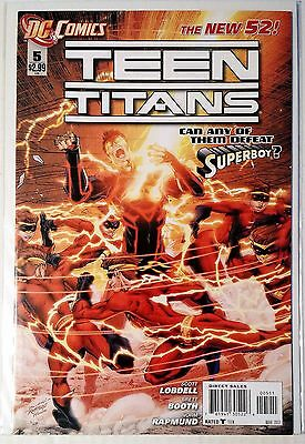 Teen Titans #5 (2011) New 52 NM Lobdell Booth