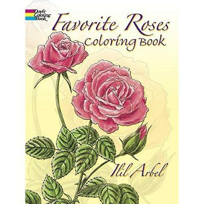FREE 2 DAY SHIPPING: Favorite Roses Coloring Book (Dover Nature Coloring Book)