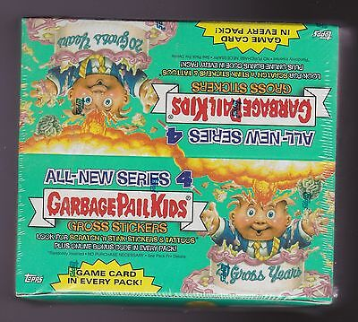 2005 Topps GARBAGE PAIL KIDS All-New Series 4 Unopened Sealed Box