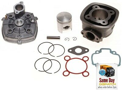New Big Bore Cylinder Barerl Kit 70Cc + Head Gilera Dna Runner Cat Sp 50 Lc