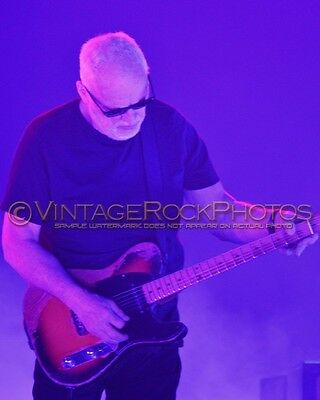 David Gilmour Photo 8x10 inch 2016 MSG NYC, NY Rattle That Lock Concert Tour 10