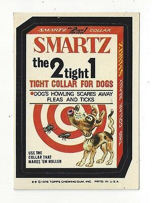 1976 Topps Wacky Packages 16th Series 16 SMARTZ DOG COLLAR nm- o/c