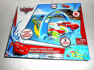 Disney Cars World Grand Prix Splash Speedway Track