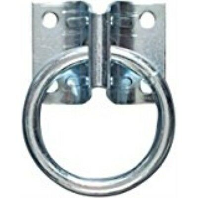 Stanley National Hardware 2060BC Zinc Plated Hitch Ring w/Plate