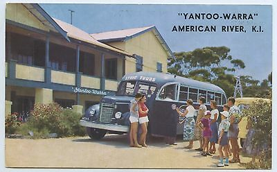 C.1950's Private Advert Postcard Yantoo-Warra Guest House American R Ki S.a. Y67