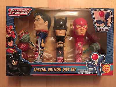 JUSTICE LEAGUE Special Edition Flix Candy gift set Superman, Batman, The Flash