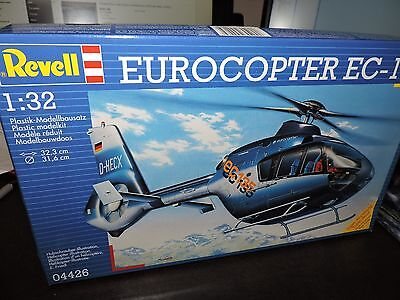 REVELL 1/32nd SCALE EUROCOPTER EC-135 HELICOPTER  # 04426