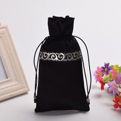1pc Wicca Pagan Storage Drawstring Bag Tarot Cards Black Tarot Pouch Bag Case