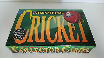 1994-1995 Futera International Cricket Collector Cards EMPTY card box