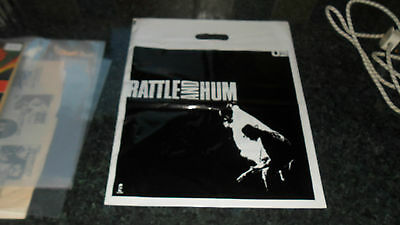 U2.rattle And Hum Promo Bag