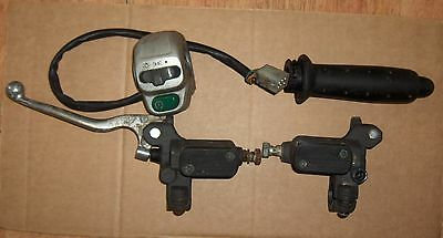 Peugeot 50 100 Looxor Front & Rear Brake Master Cylinders Right Switchgear Lever