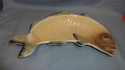"Vintage Shorter & Son 12"" Curved Fish Dish"
