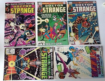 Doctor Strange Marvel  -  Issues 44,46,47,48,49 Vf (1981)