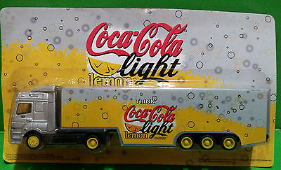 Coca Cola Camion /truck Coca Cola Light Lemon