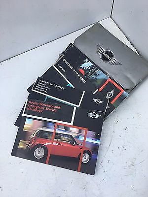 BMW Mini R50 R53 BOOK PACK OWNERS MANUAL GUIDES HANDBOOK 01- on