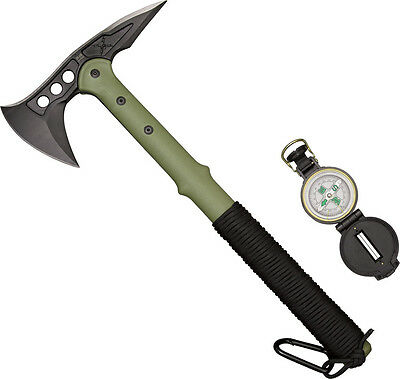 United Cutlery Knife New M48 Ranger Hawk Axe w/Compass UC2836