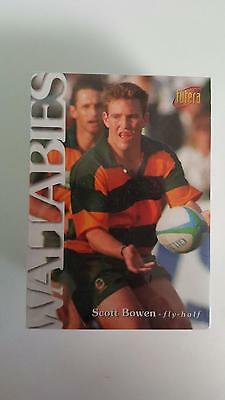 1996 Futera Australian Rugby Wallabies Full SET of 100 Common Cards