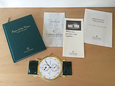 Book Libro CHRONOSWISS - Signs of the Times - English - Watches Relojes Montres