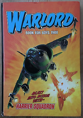 Vintage Annual - Warlord Book For Boys 1988