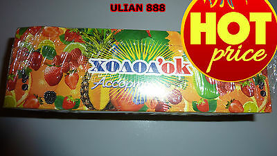 30x Russian Rare Fruit Candy Many Flavours Холодок Assorted 450g Fast Airmail