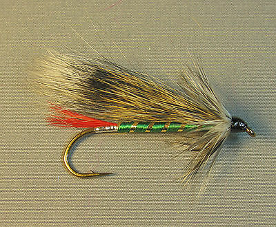 Grizzly King Streamer Trout Fly - Sizes 4, 6 and 8