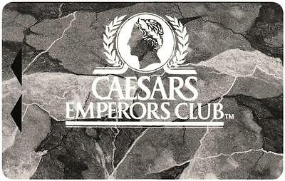 CAESARS PALACE hotel casino *EMPERORS CLUB* BLANK~ slot/players card