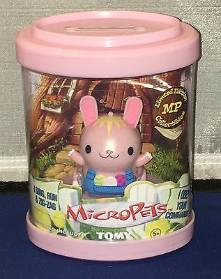 Vintage Tomy 2002 Micropets Pink Rabbit Bunny New In Package