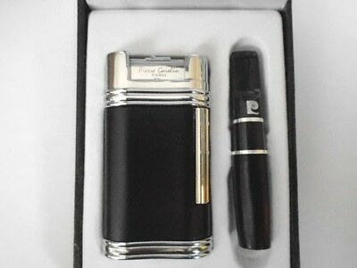 Pierre Cardin Paris Luxury Horizontial soft flame Lighter With Gift Box