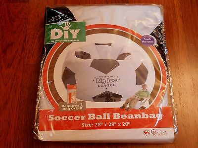 NEW Comfort Research Big Joe League Soccer Ball Beanbag - Requires 1 Bag of Fill