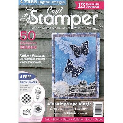 Craft Stamper Magazine - Back Issues - with digital images