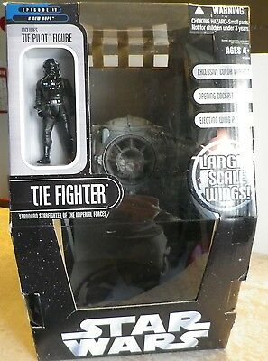 STAR WARS Tie Fighter Hasbro UK 2006 (large scale)