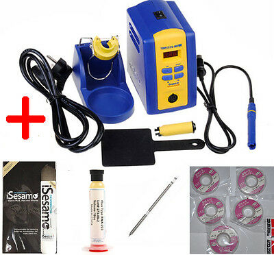 FX-951 fx951 Digital Thermostatic Soldering Station/Solder  Soldering Iron FULL
