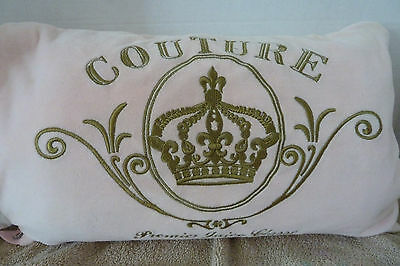 Juicy Couture Travel Set  Pillow, Blanket, Eye Mask