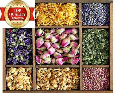 Dried Flowers, Tea Making, Soap, Infusion, Natural Confetti, Candle, Bath, Craft
