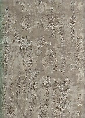 5.75 yards Holly Hunt Upholstery Fabric Palazzo Linen Grigio 3225-01 PA4