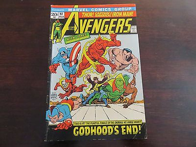 The Avengers #97 (Mar 1972, Marvel) VF- 7.0