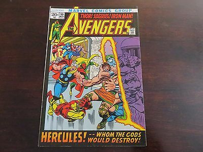 The Avengers #99 (May 1972, Marvel) VF 8.5