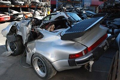 Porsche 911 930 Project Salvage Chassis Turbo Parts Available Brakes Fuchs
